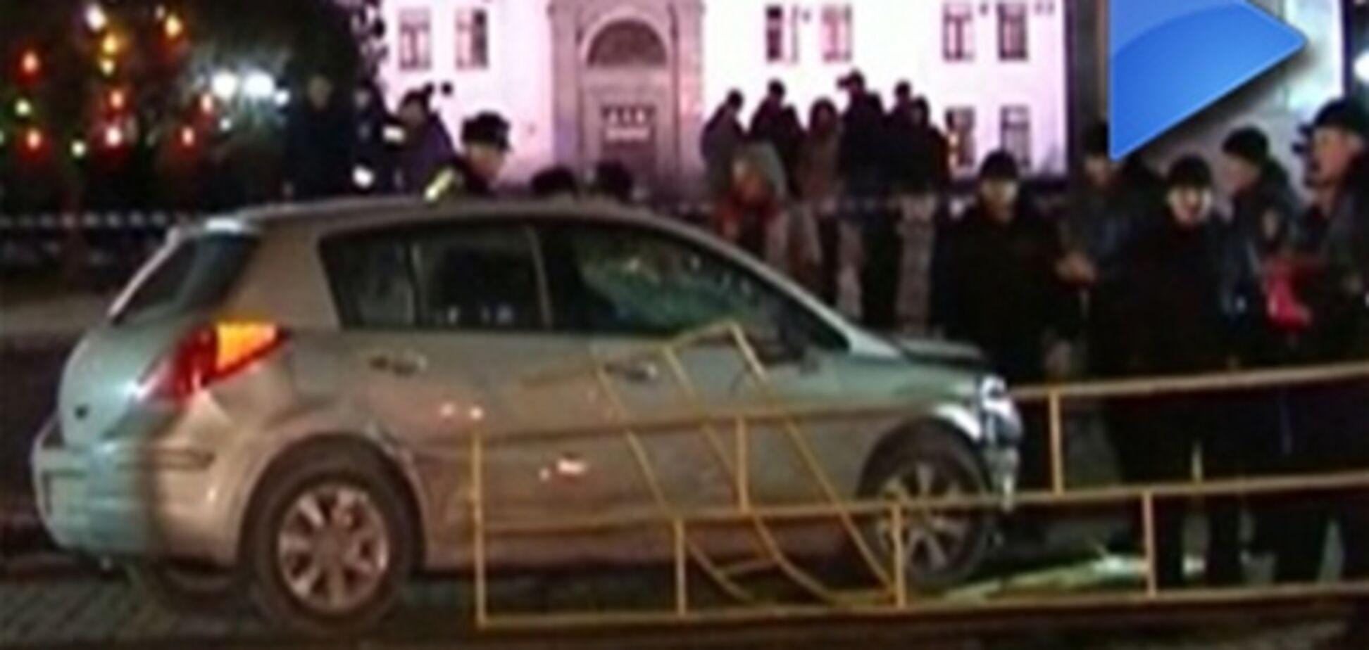 Страшная авария в Луганске