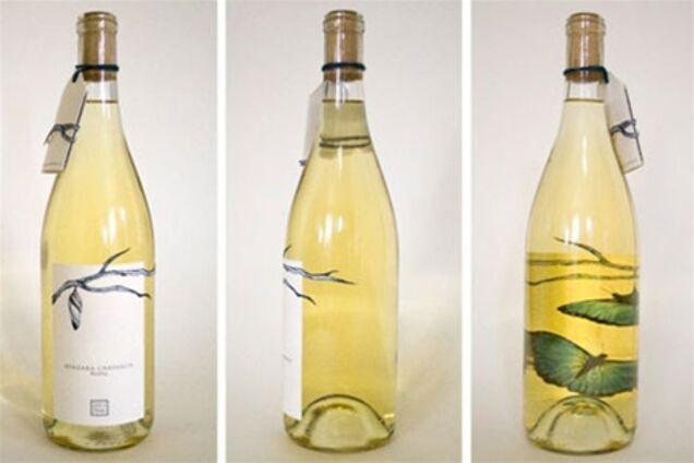 створити етикетку на винну пляшку как натуральные