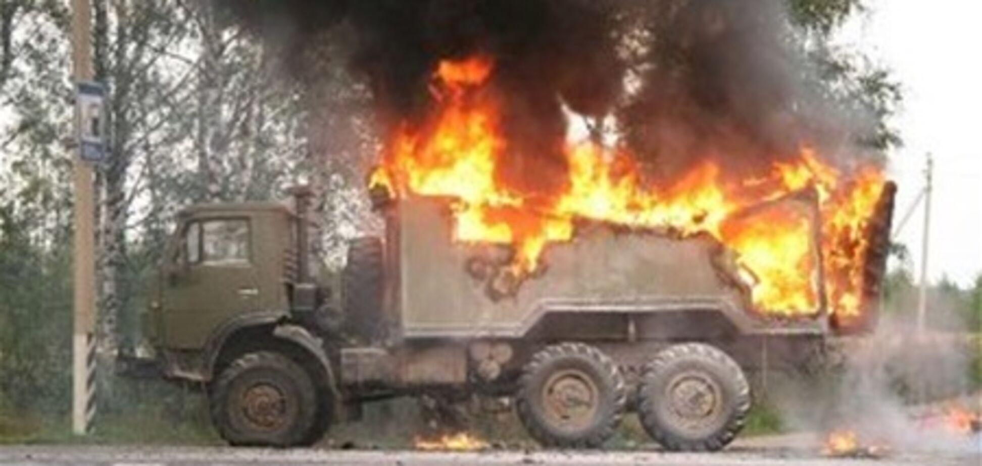 На Полтавщине сгорел милиционер