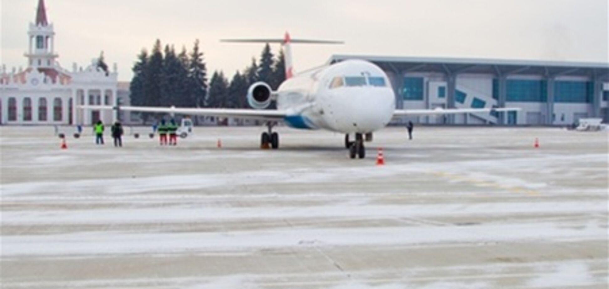 В харьковском аэропорту открыт новый перрон
