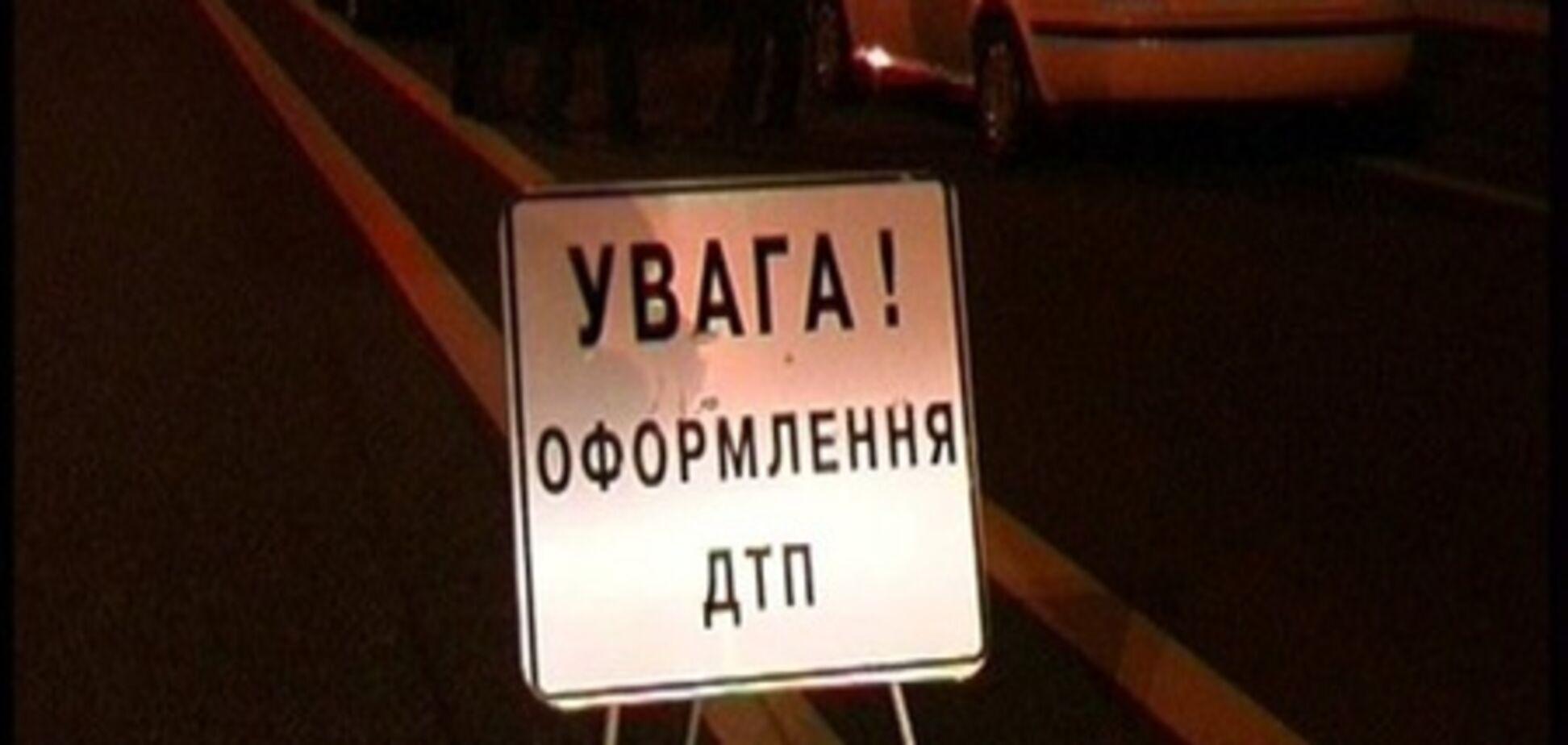 В Ривном маршрутка врезалась в грузовик: есть жертвы