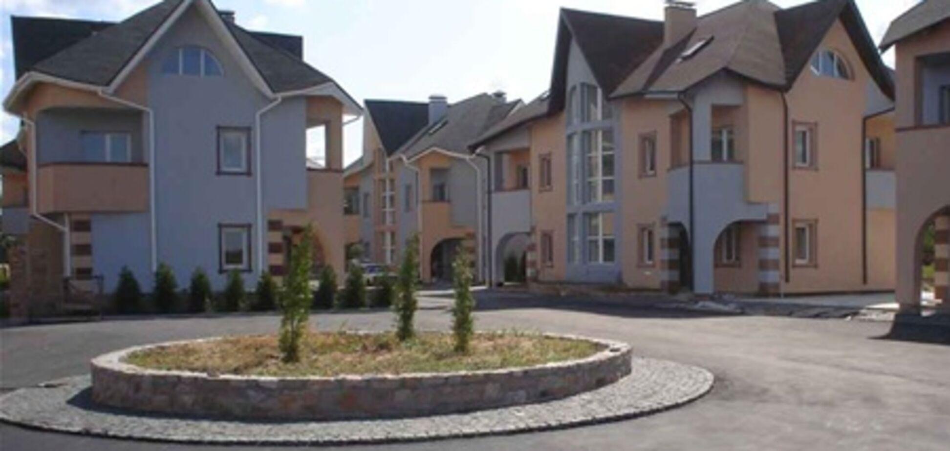 Дома в коттеджных городках покупают неактивно