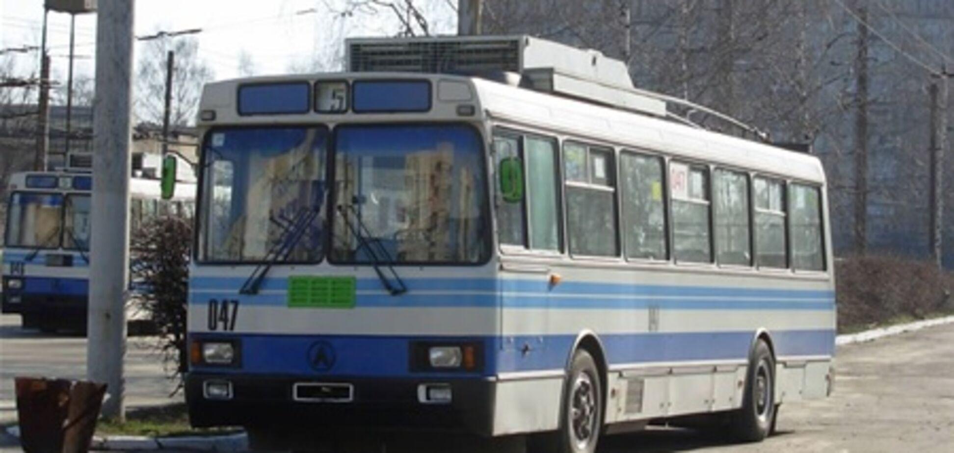 Двое жителей Львова похитили троллейбус