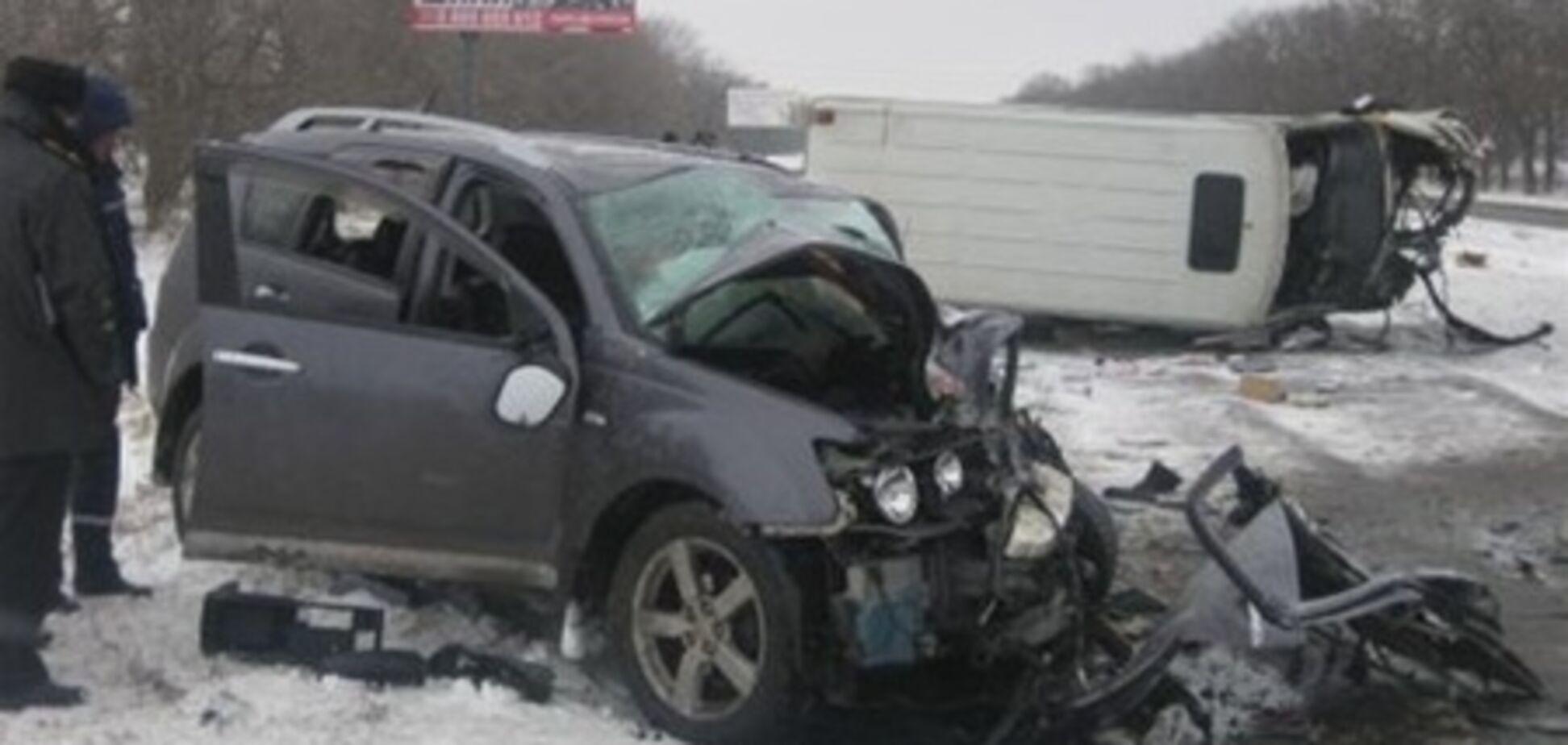 В ДТП серьезно ранен экс-глава МЧС Днепропетровска