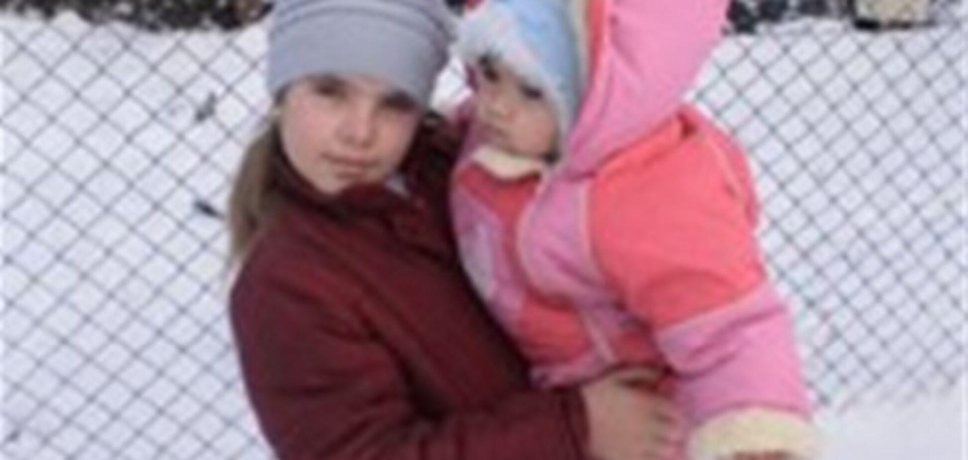 8-летняя девочка спасла при пожаре свою 10-месячную сестру