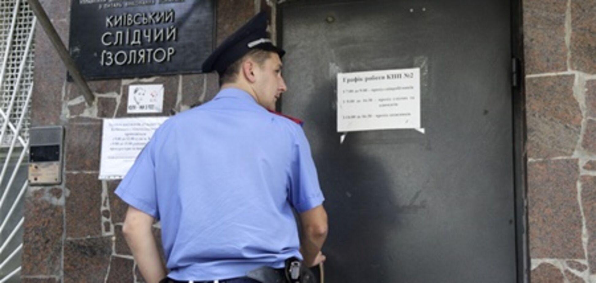 В Лукьяновском СИЗО в конвульсиях умер парень - СМИ