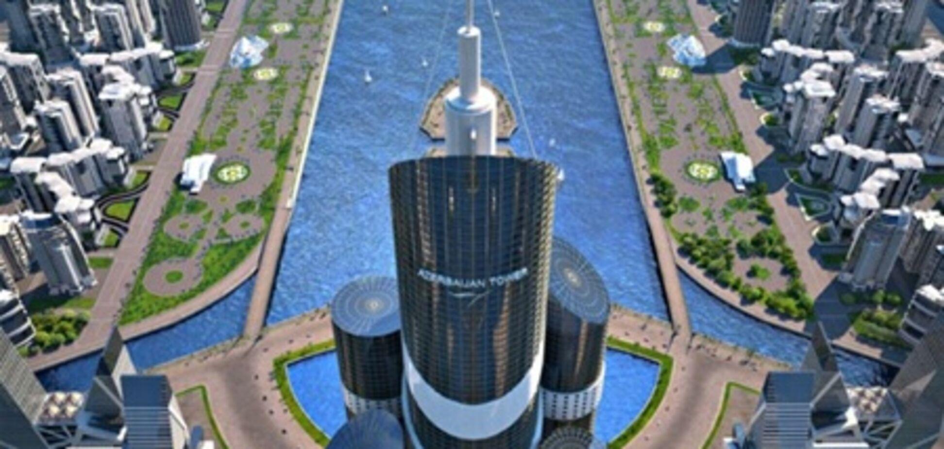 В Азербайджане построят километровый небоскреб