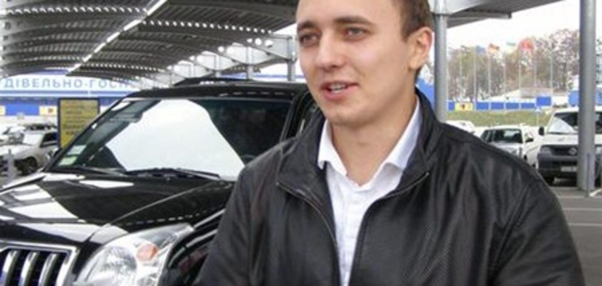 Мэр Немирова сбил сотрудника СБУ и сбежал с места ДТП