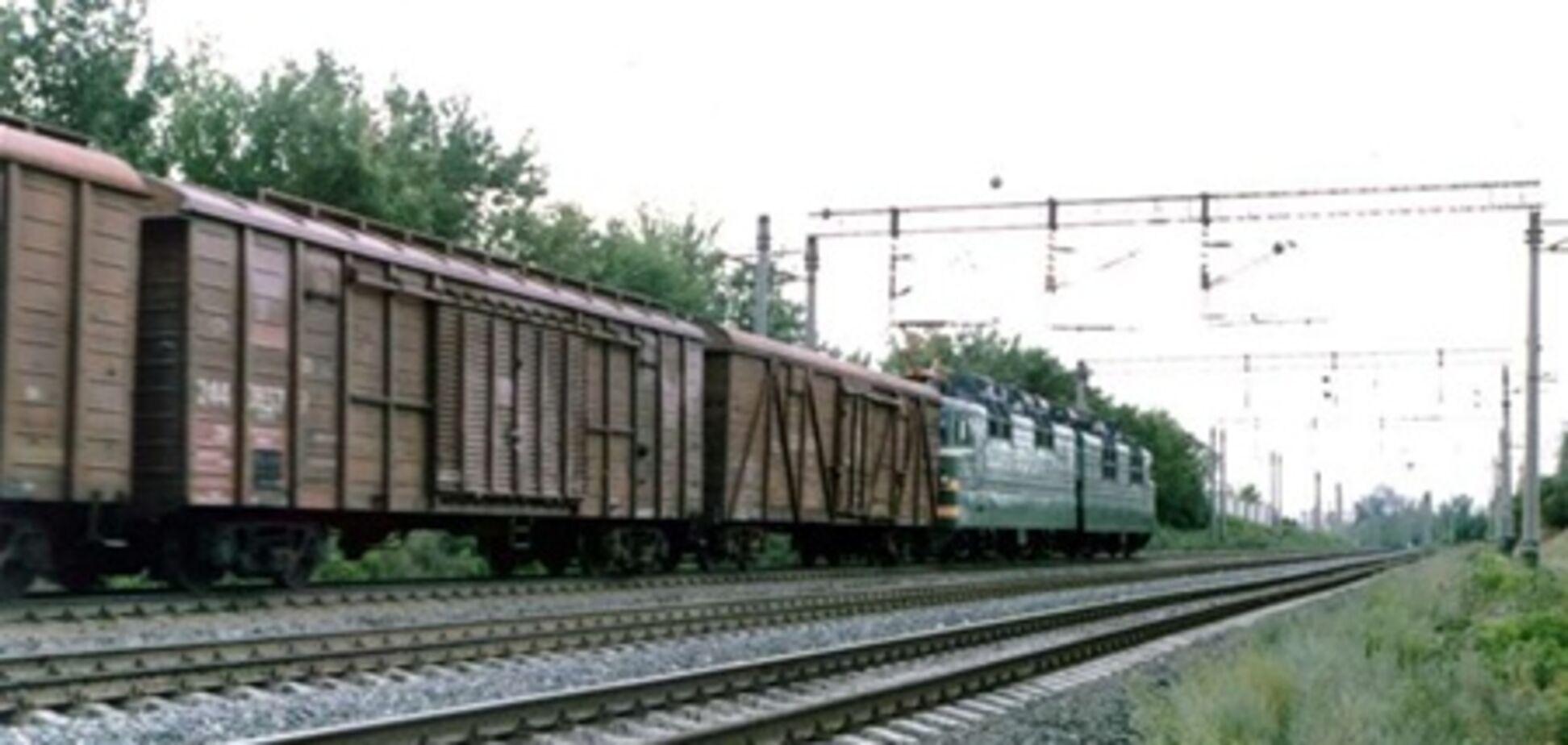 На Сумщине с рельсов сошло 27 вагонов грузового поезда