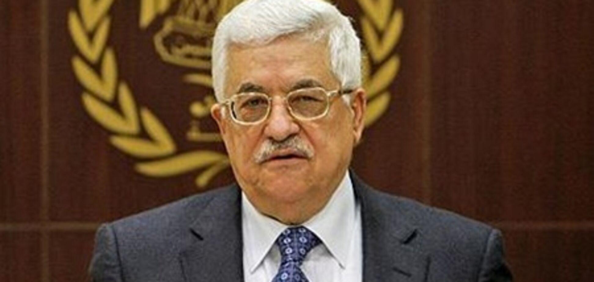 Глава Палестини тисне на ізраїльську делегацію