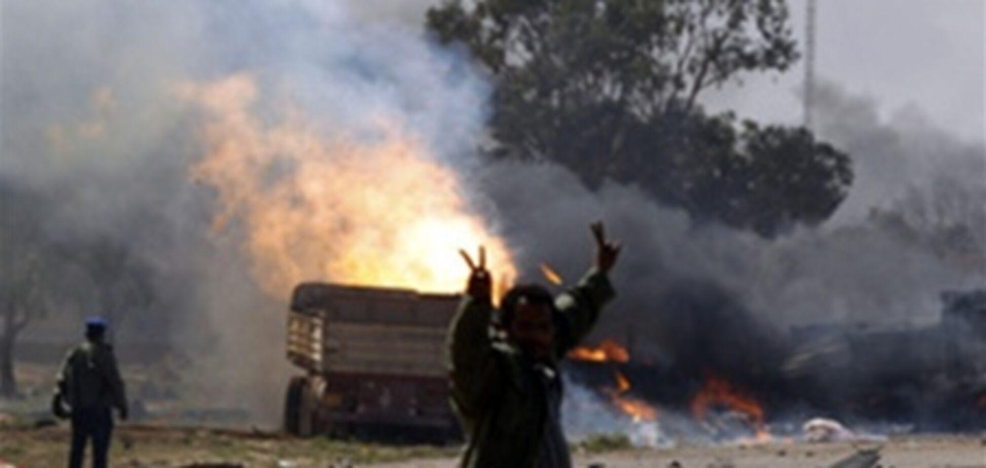 У центрі Тріполі почалися масштабні бої