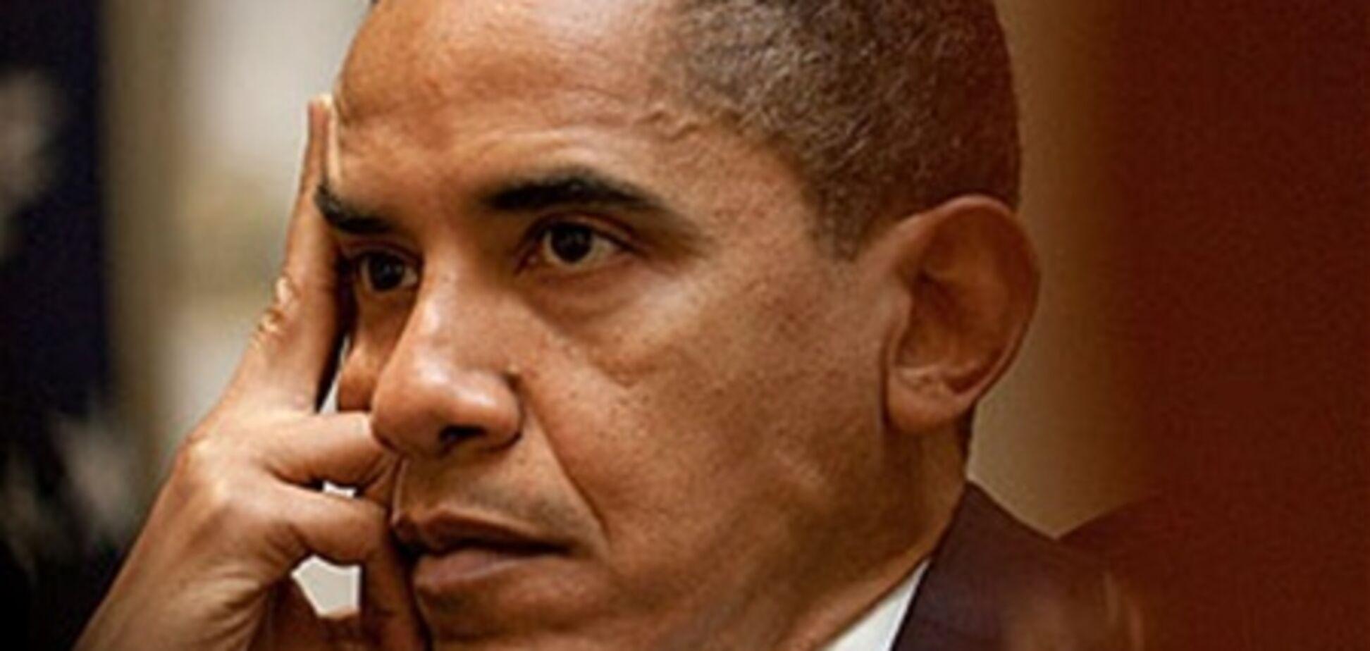 Обама опозорился