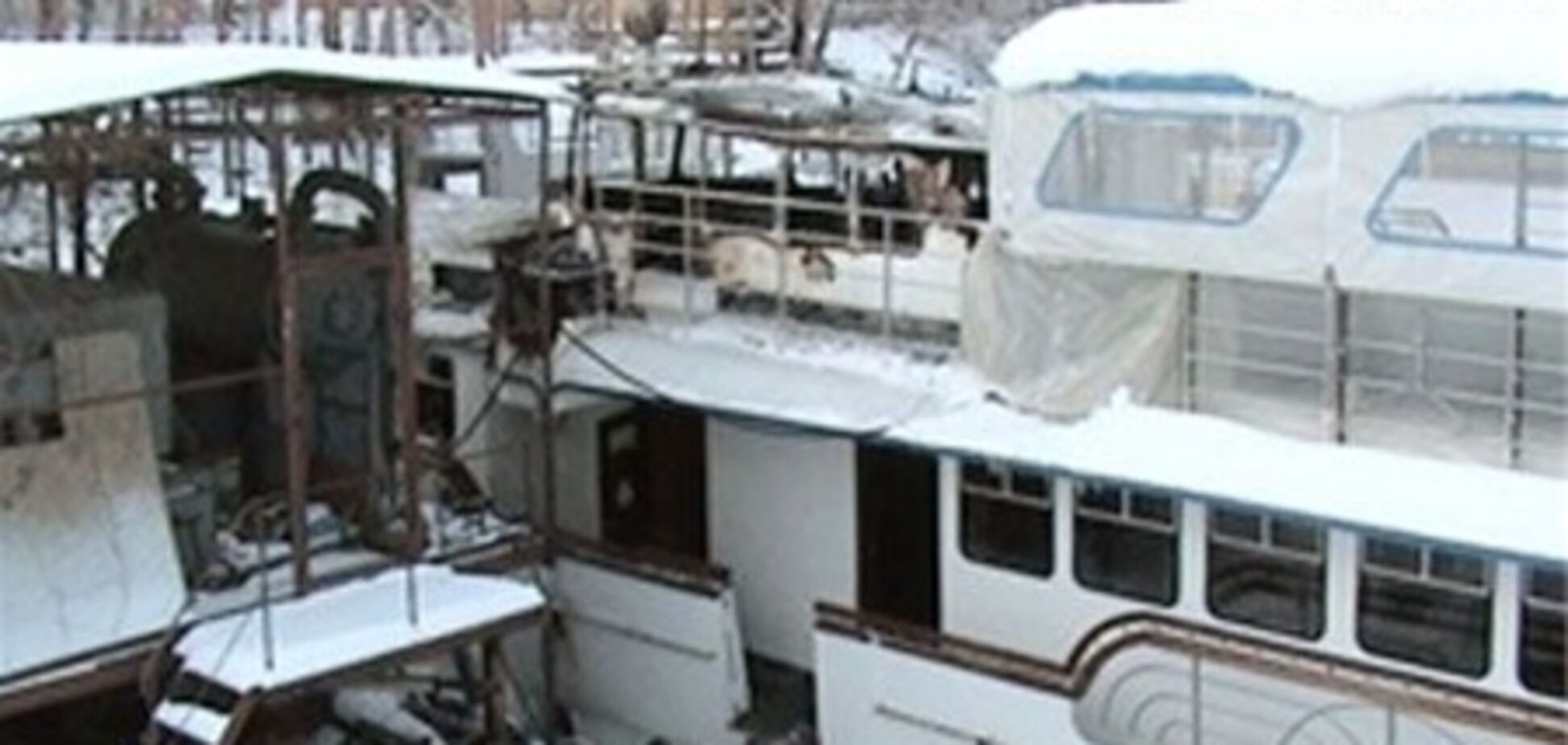 Подробности пожара на киевском теплоходе