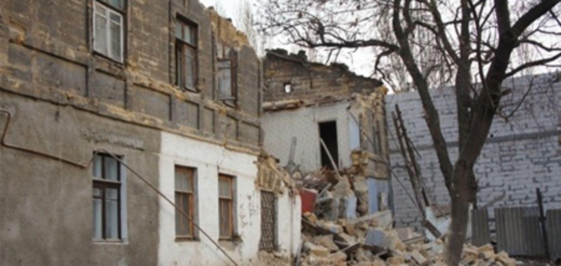 Еще один жилой дом обрушился в Одессе