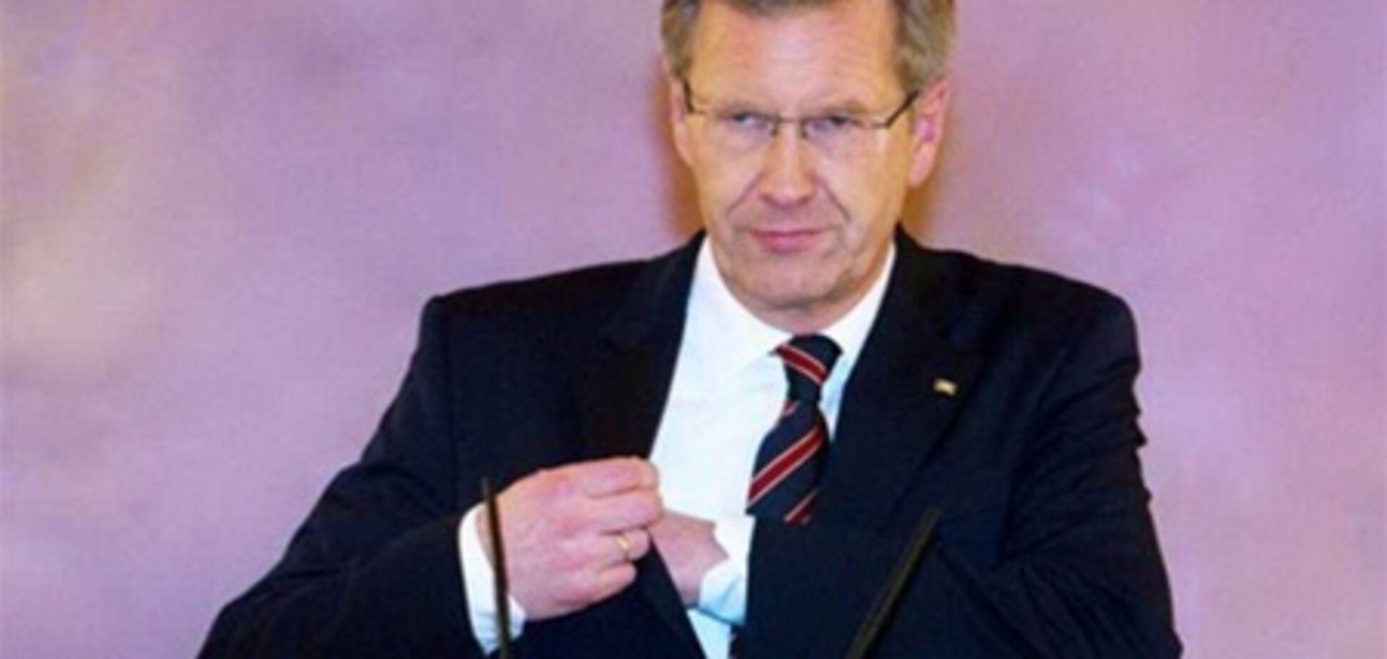 Президент Німеччини відмовився піти у відставку