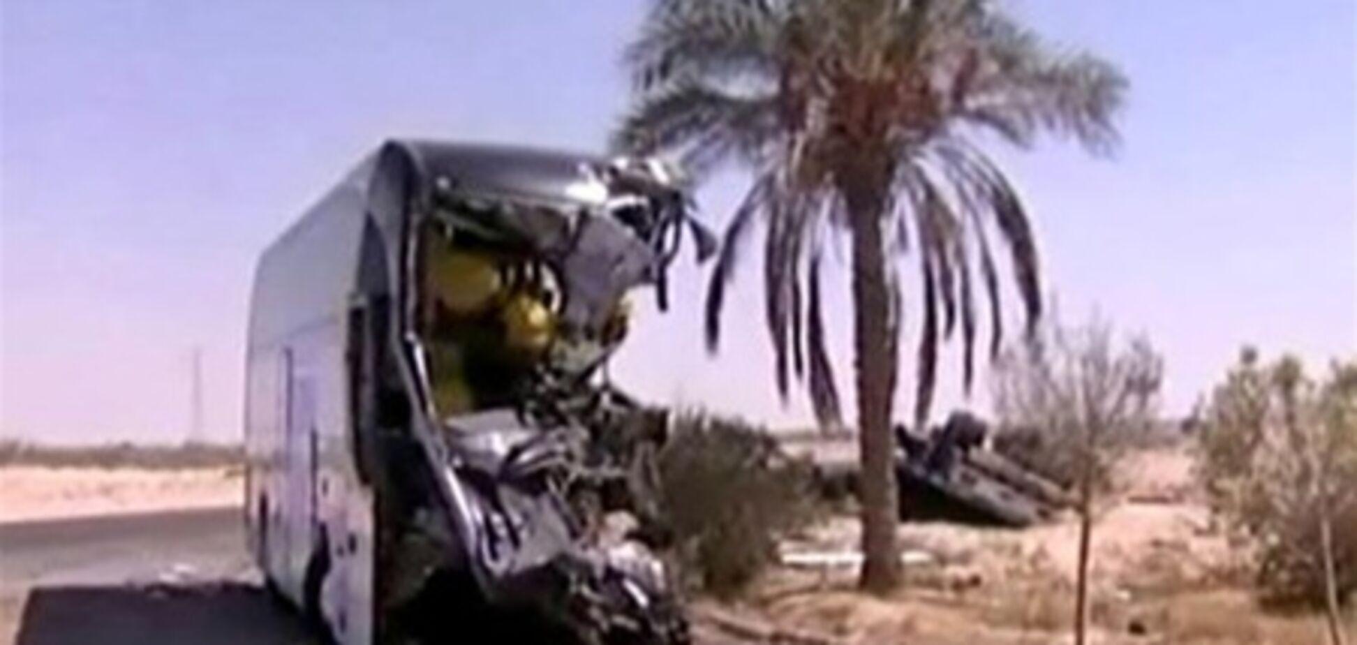 Два автобуси з туристами потрапили в ДТП в Єгипті: 9 загиблих, 25 постраждалих