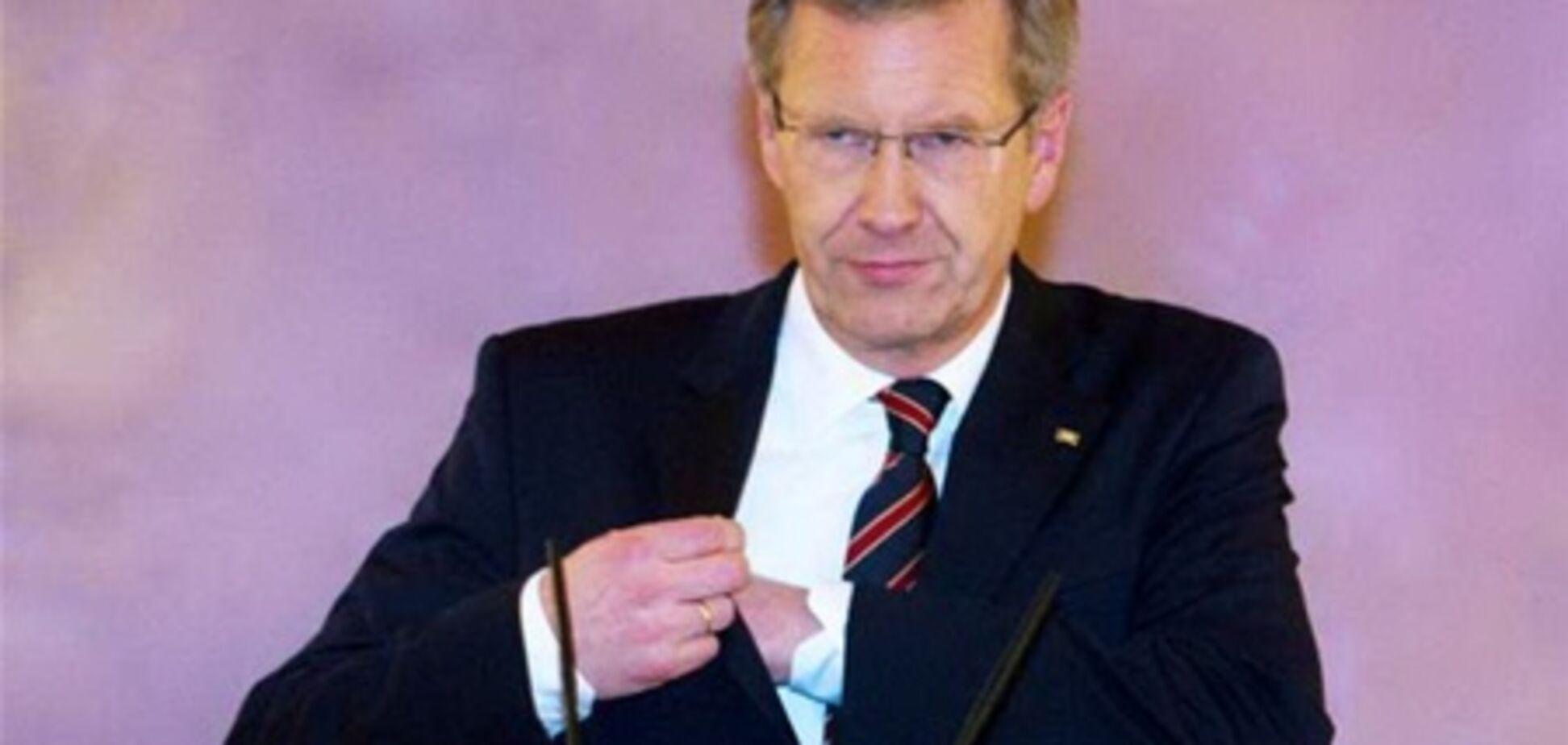 Президенту Німеччини загрожує відставка через тиск на ЗМІ
