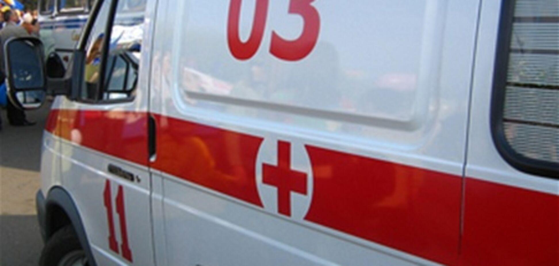На Полтавщине мужчина выпал с 5-го этажа и остался жив