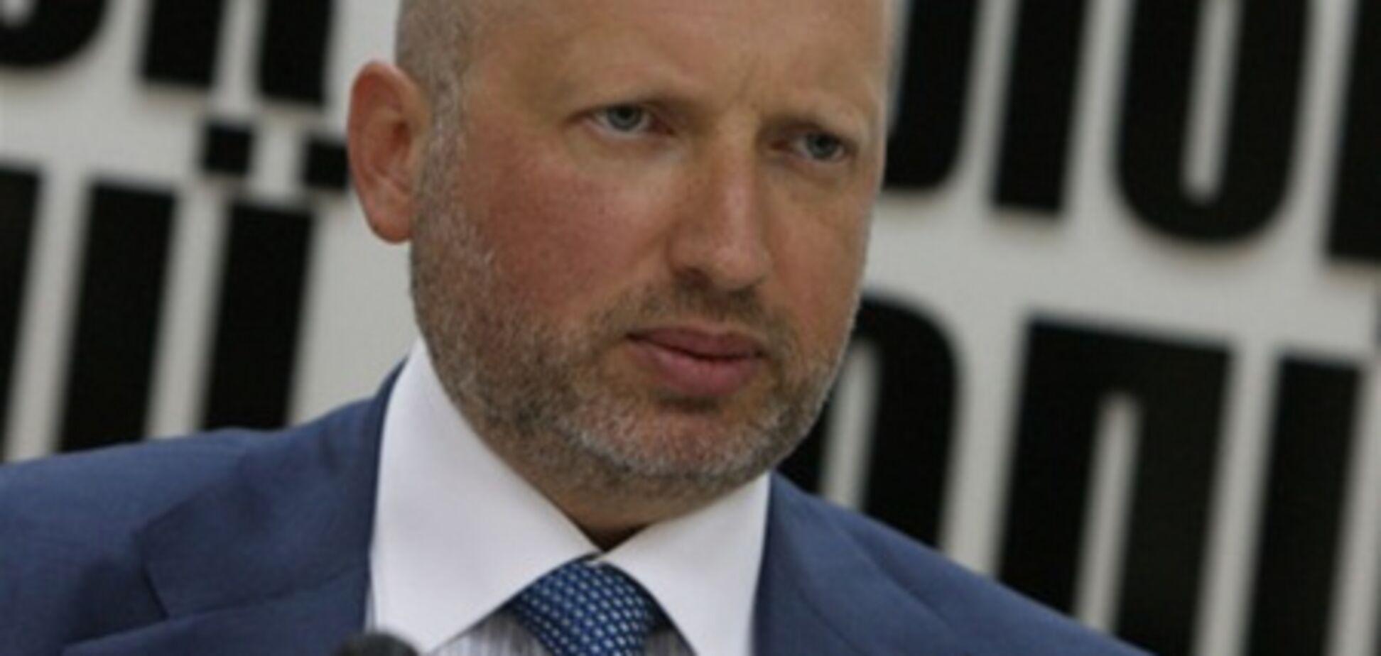 Турчинов анонсує плановий з'їзд 'Батьківщини'