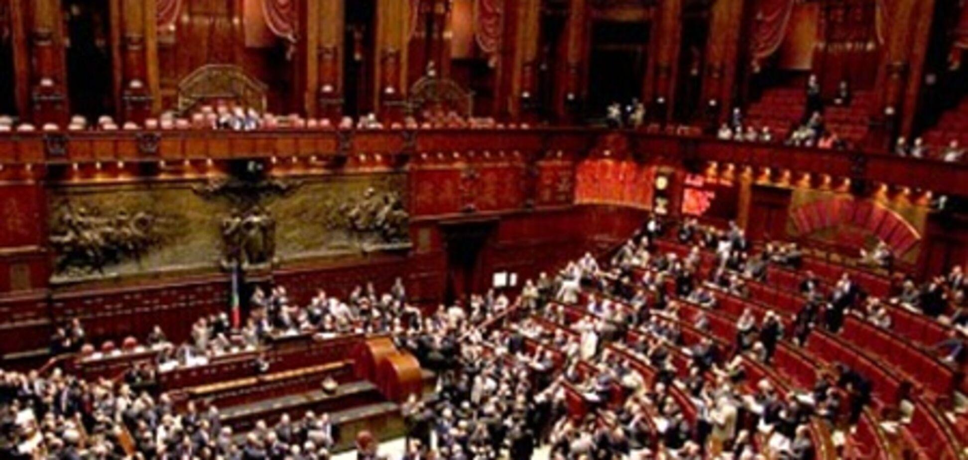 Італійські депутати виявилися найбільш високооплачуваними в Європі