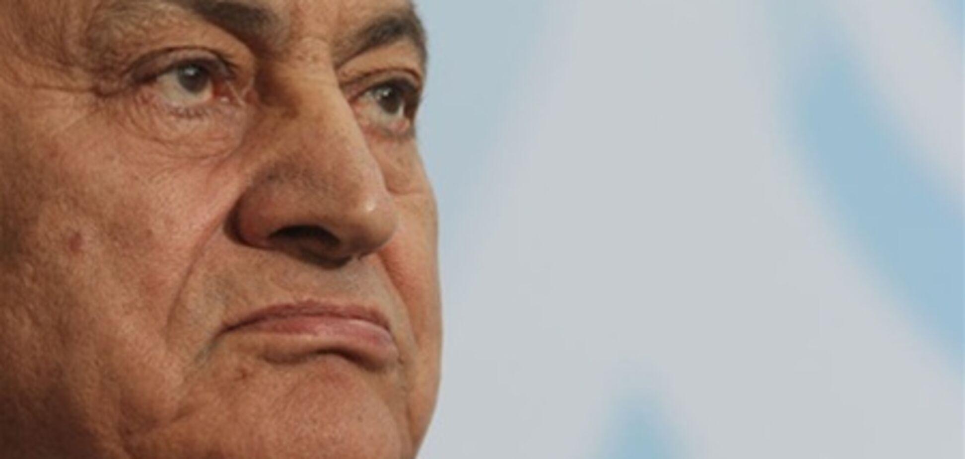 Якщо провину Мубарака доведуть, йому загрожує смертна кара