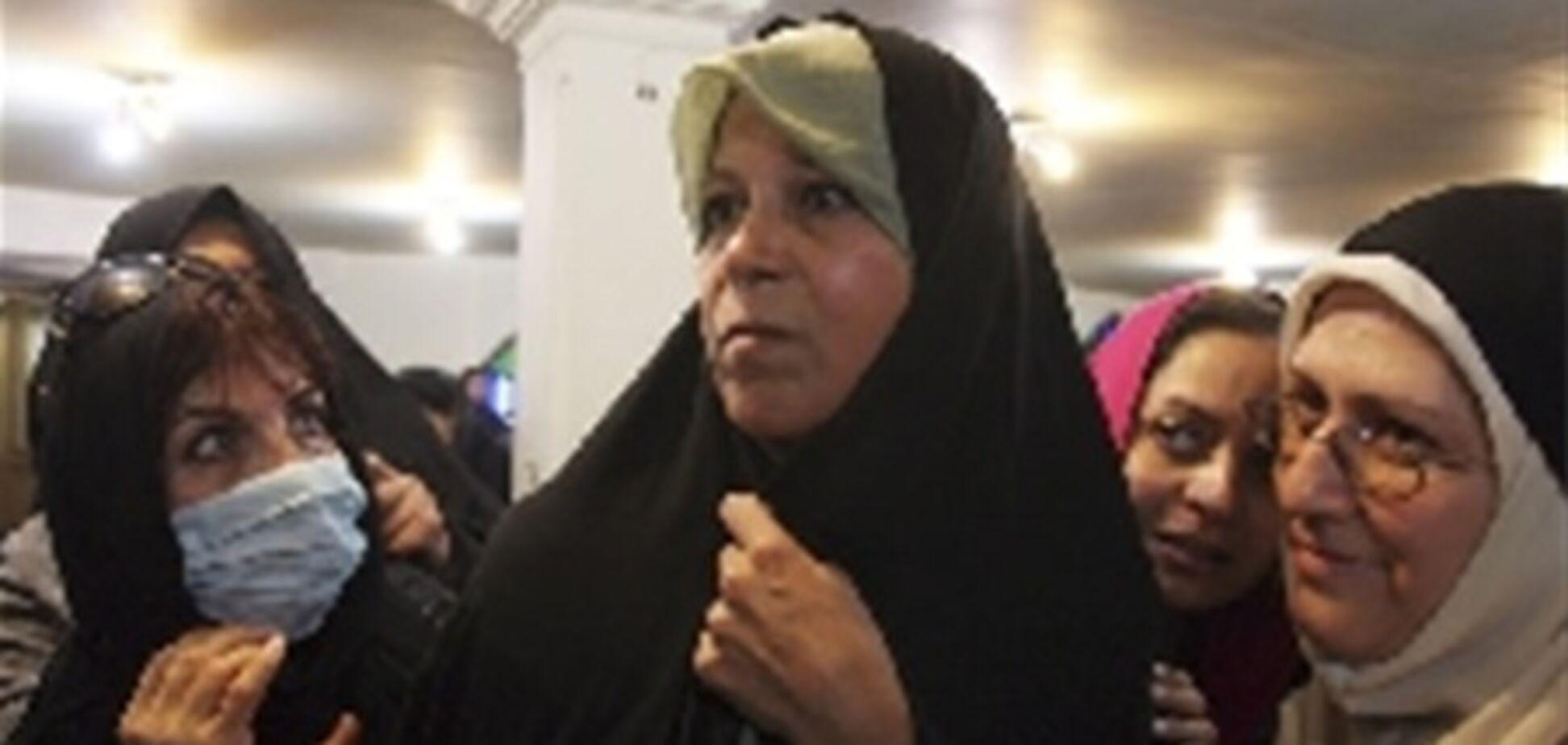 Дочка екс-президента Ірану на півроку догодила за грати через антиурядової пропаганди