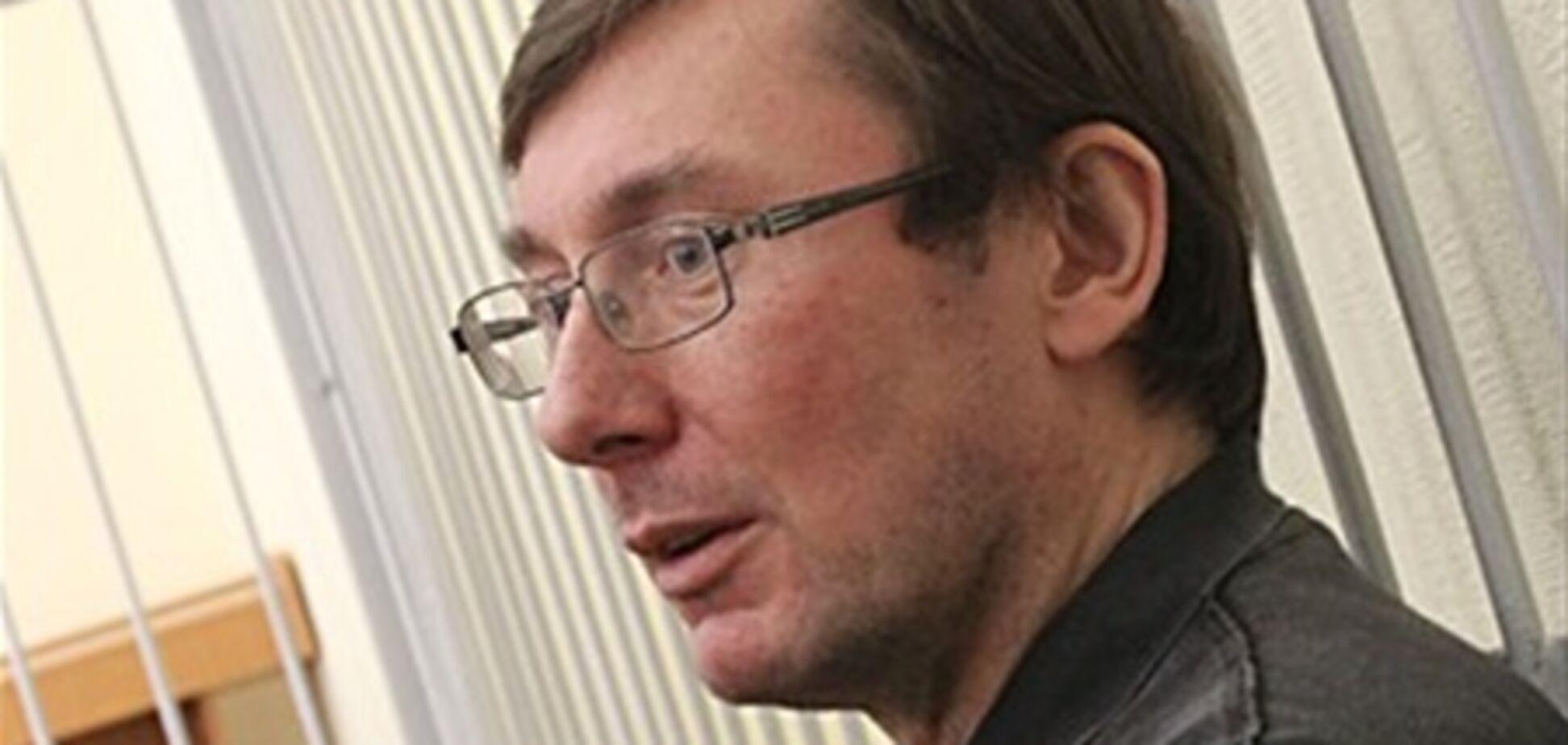Луценка можуть випустити на початку 2012 року - правозахисник