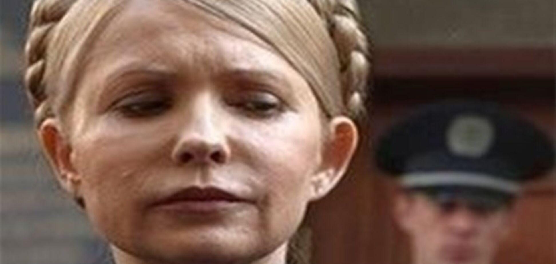 Лампочка в камере Тимошенко отвечает международным стандартам, божатся в Минздраве