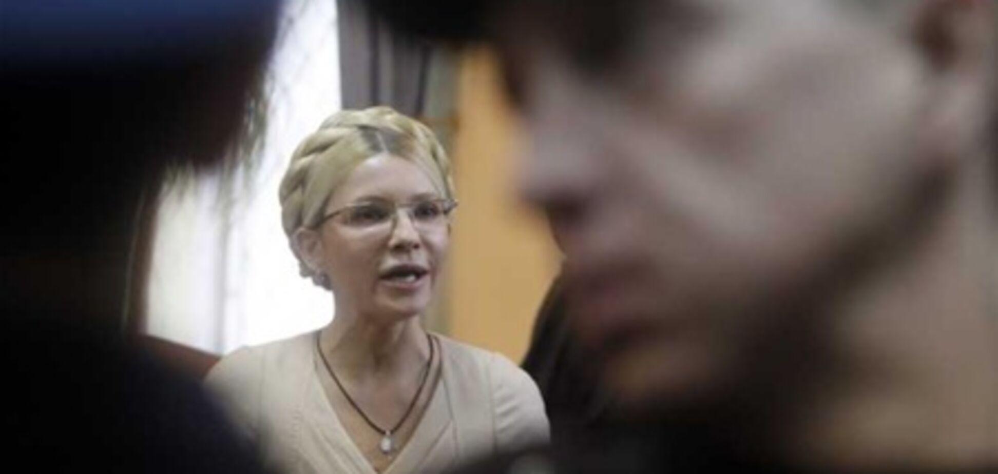 Минздрав прописал Тимошенко ходьбу, массаж и физкультуру