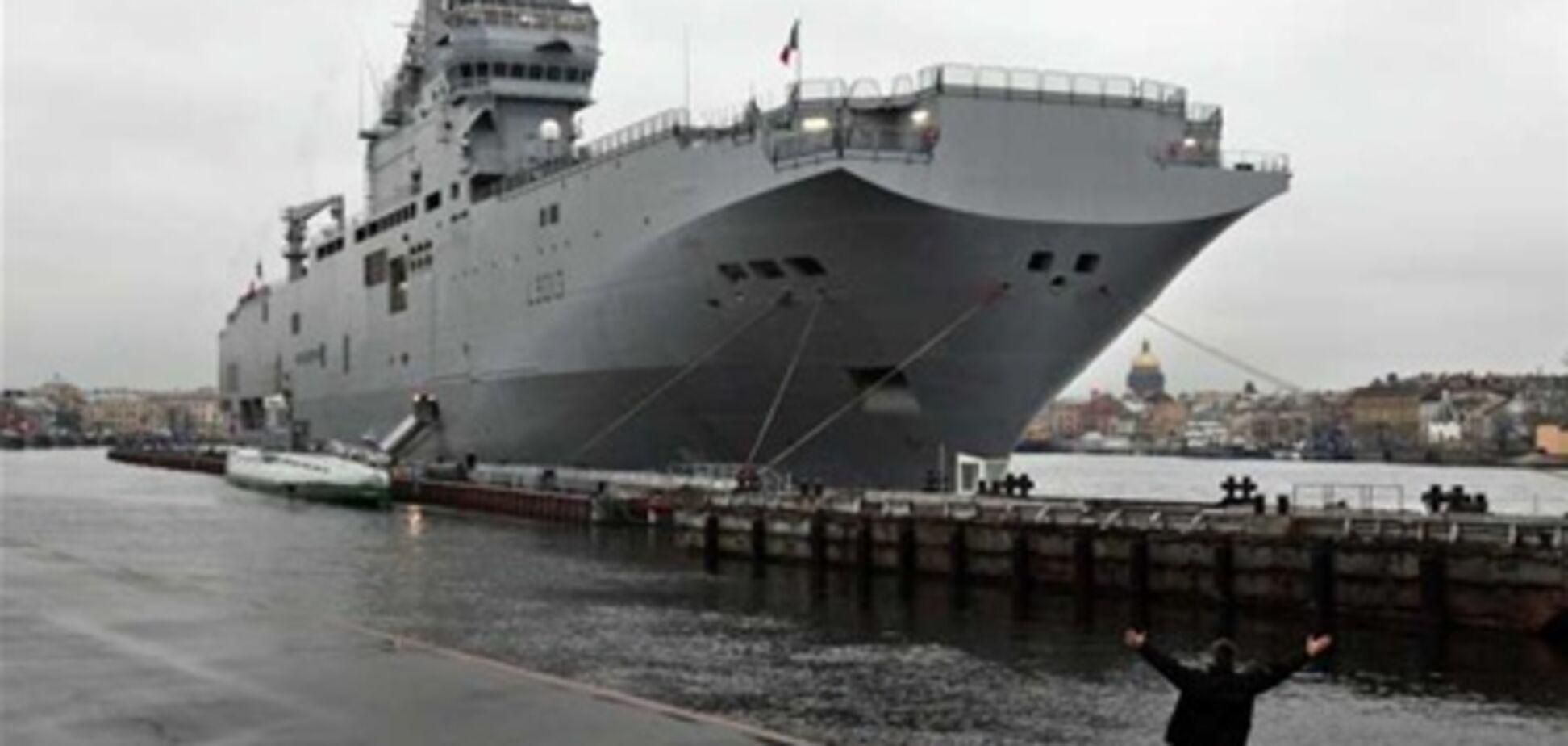 Франція так зраділа військовому контрактом з РФ, що готова продати що завгодно