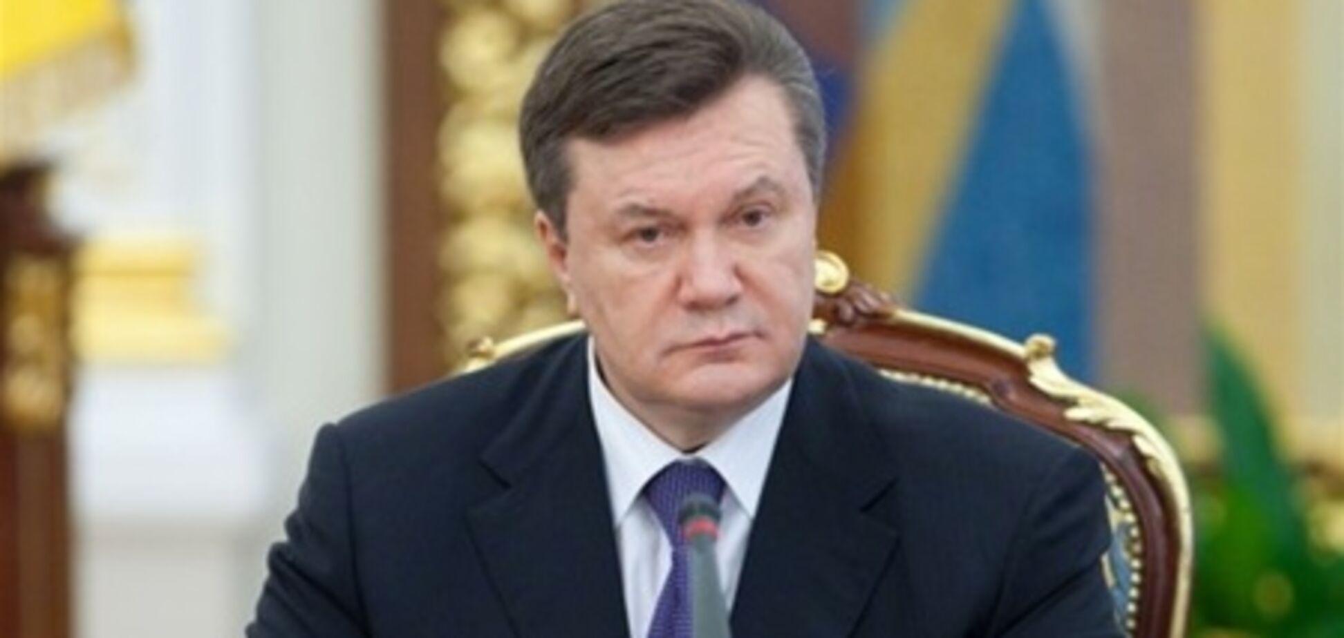 Янукович доручив МВС розібратися з ДТП, в якому звинувачують губернатора
