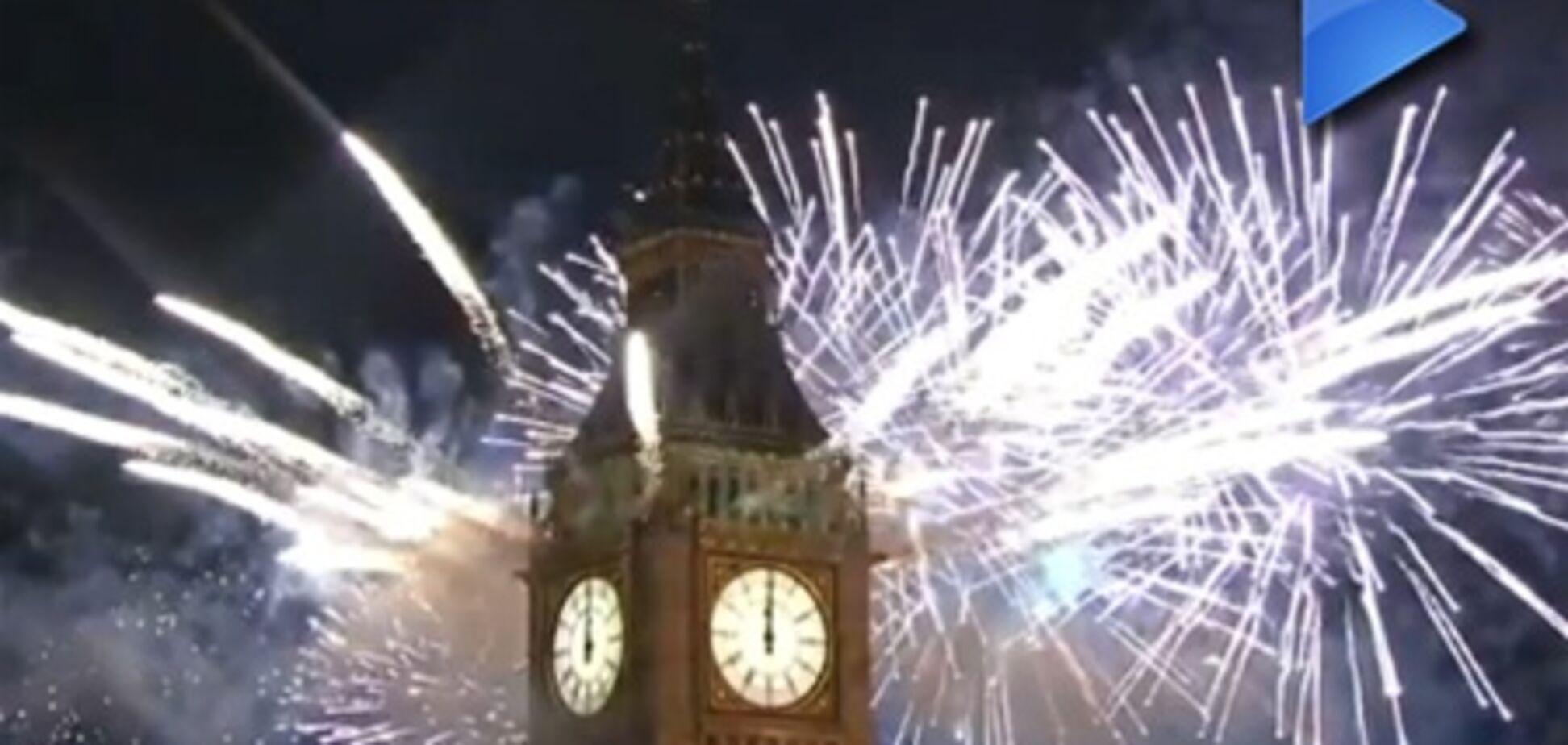 ОБОЗ.TV: приголомшливий новорічний феєрверк в Лондоні
