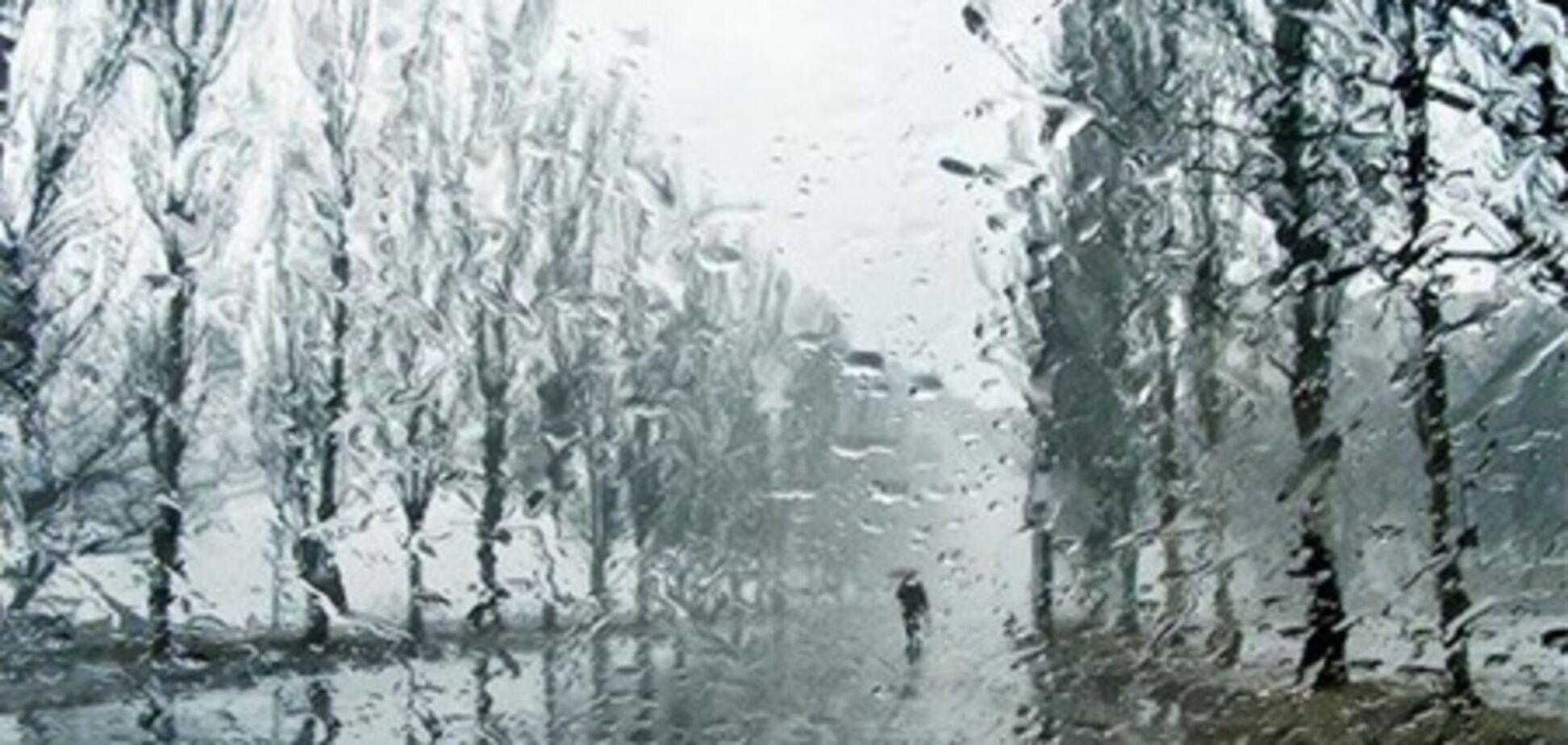 На Рождество Украину зальет дождем