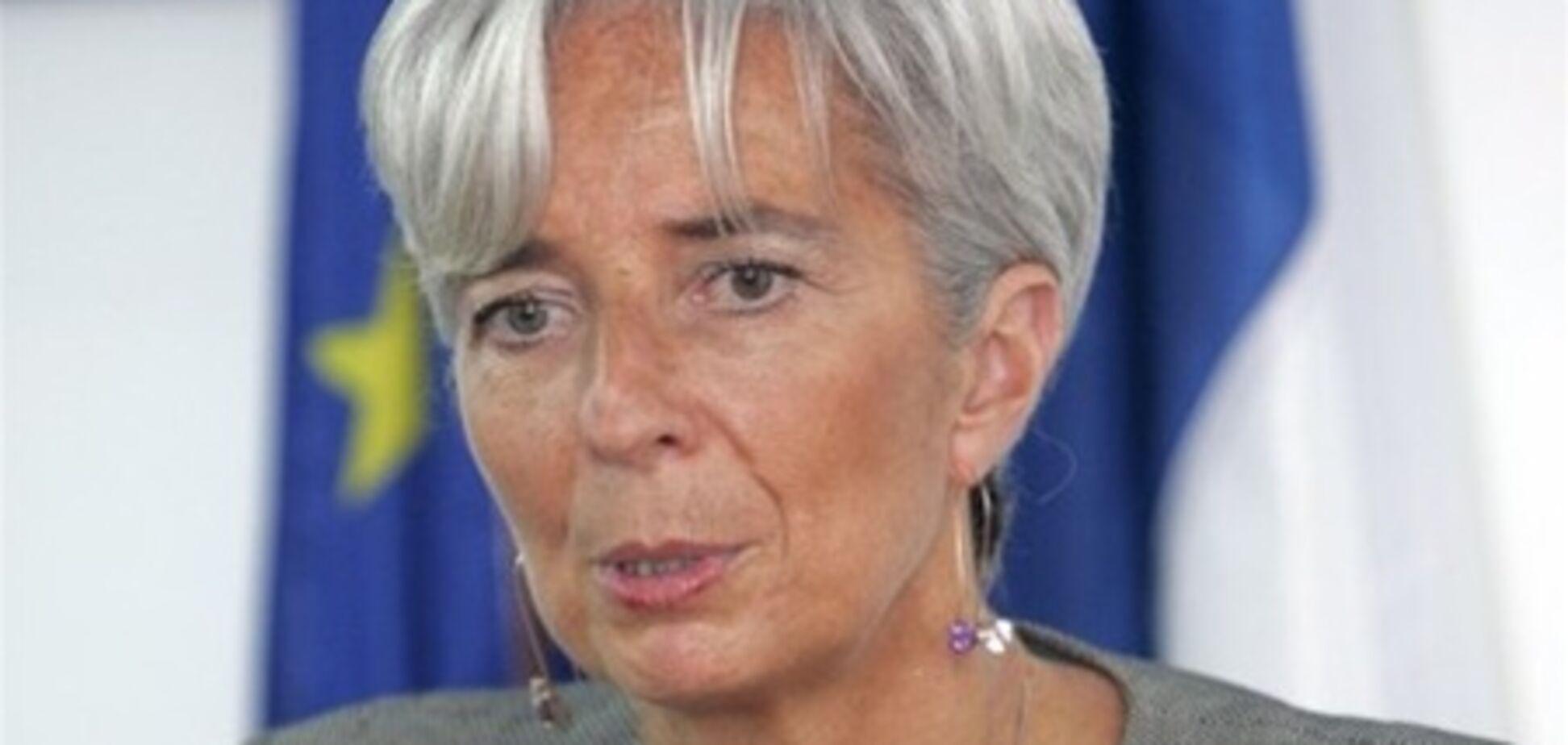 Глава МВФ: 2012 рік стане одним з найбільш напружених в історії