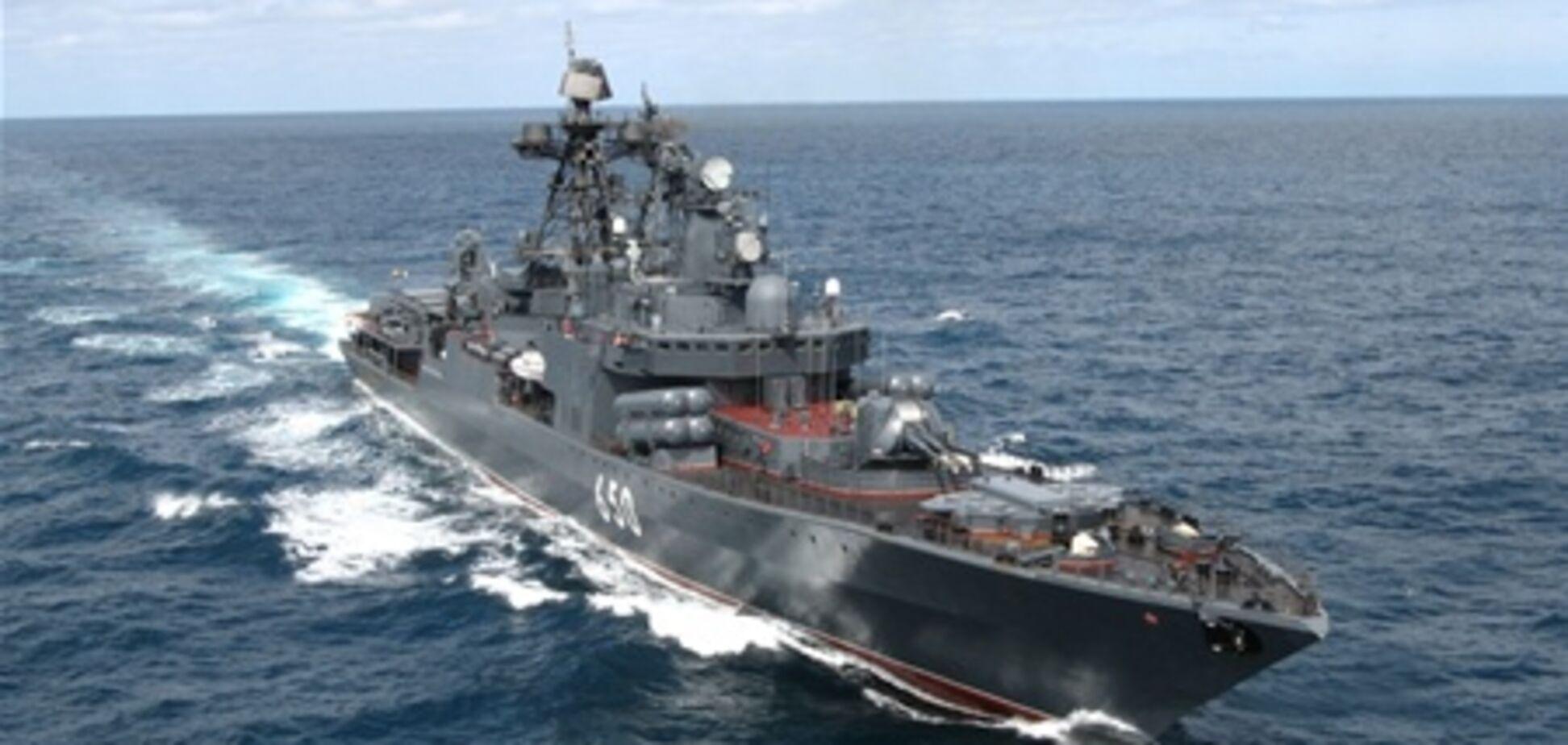 До берегів Сирії наближаються військові кораблі РФ
