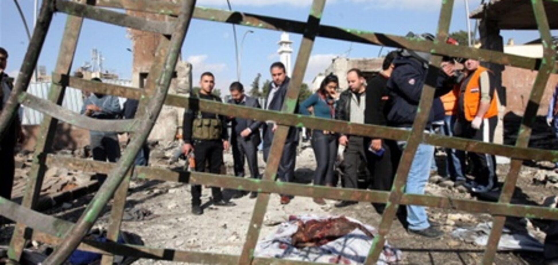 У центрі Дамаска прогримів потужний вибух, є жертви