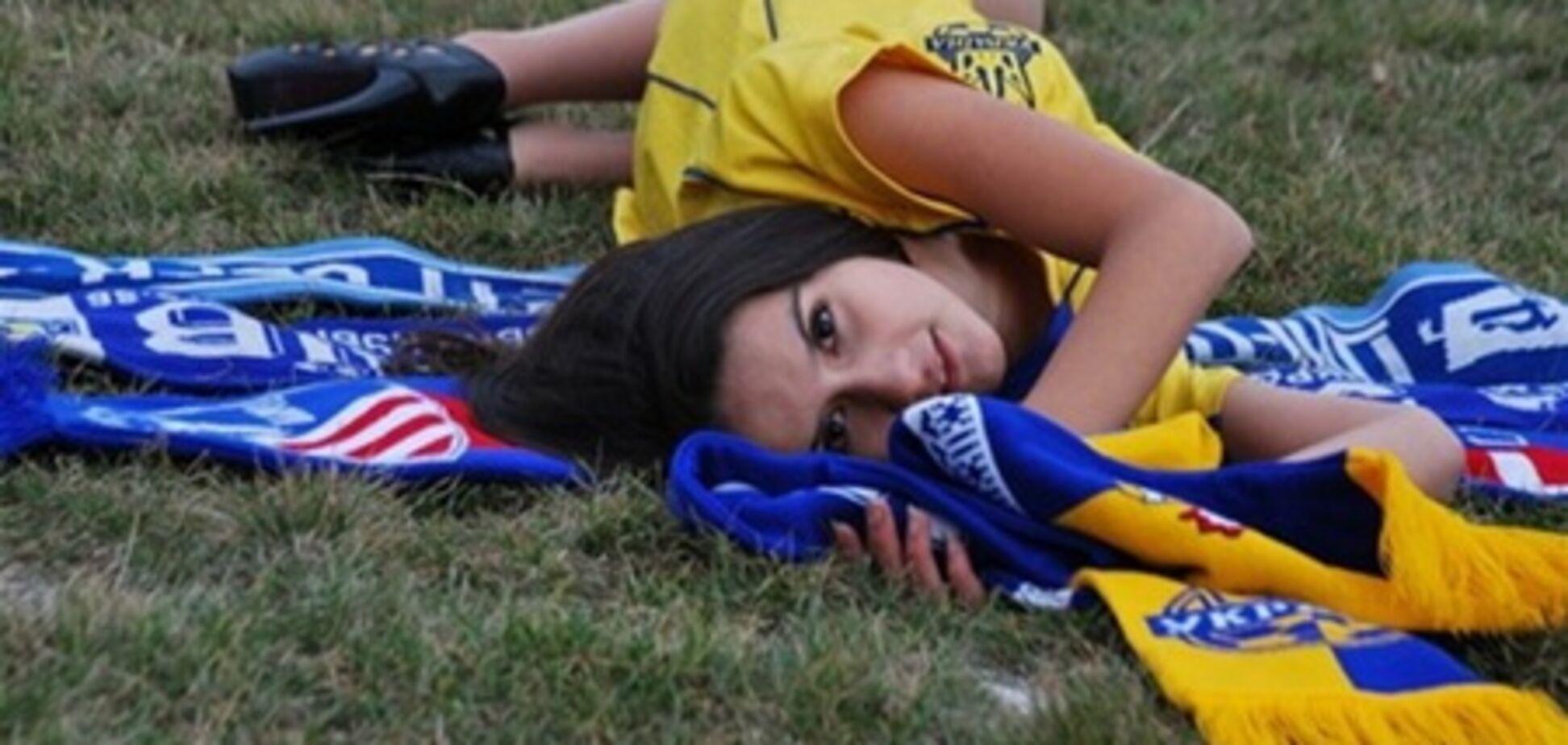 Крымчанка выиграла право сняться в ролике к Евро-2012
