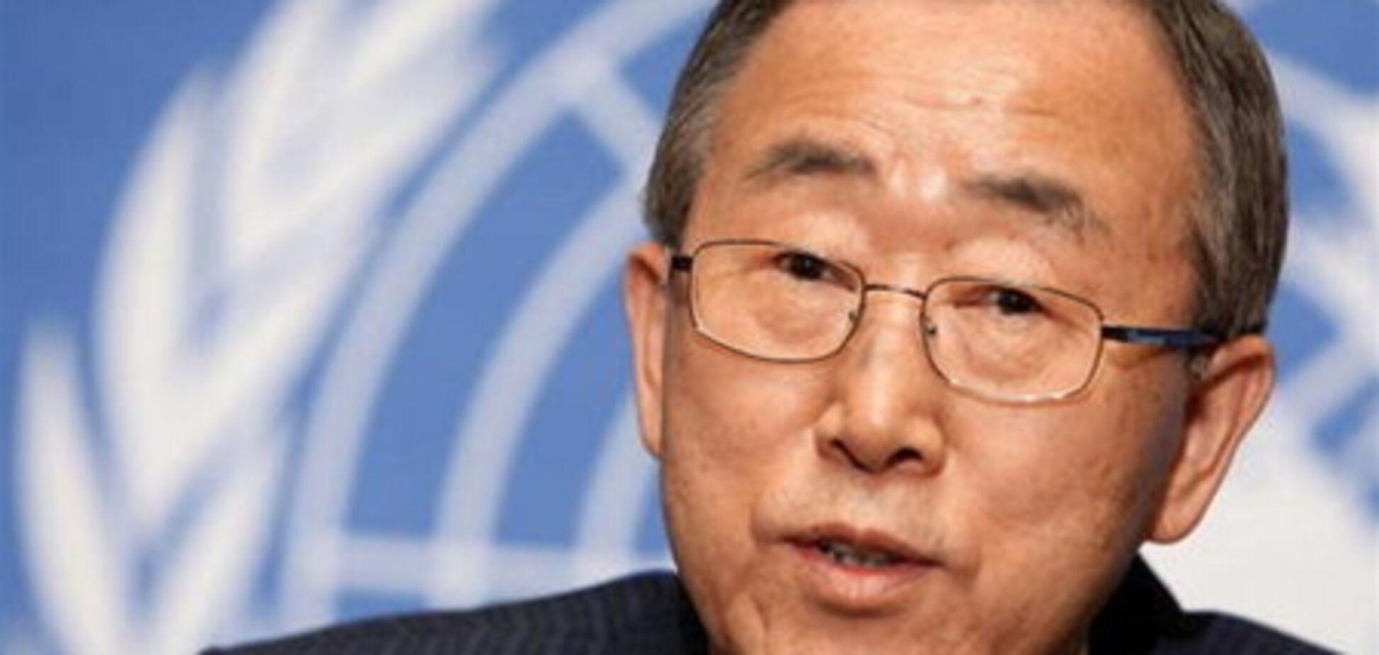 Генсек ООН пророкує нові труднощі для світу в 2012 році