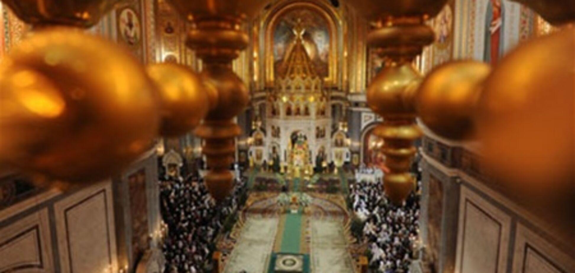 У Москві в ніч на Різдво храми відвідали 90 тис людей
