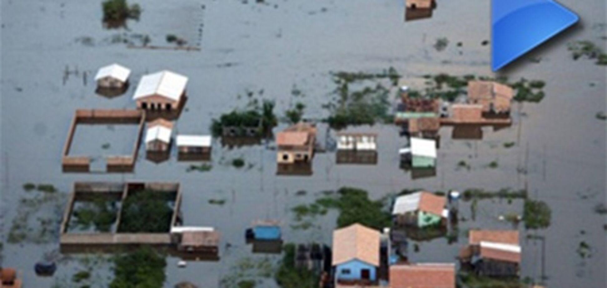 ОБОЗ.TV: повінь у Бразилії