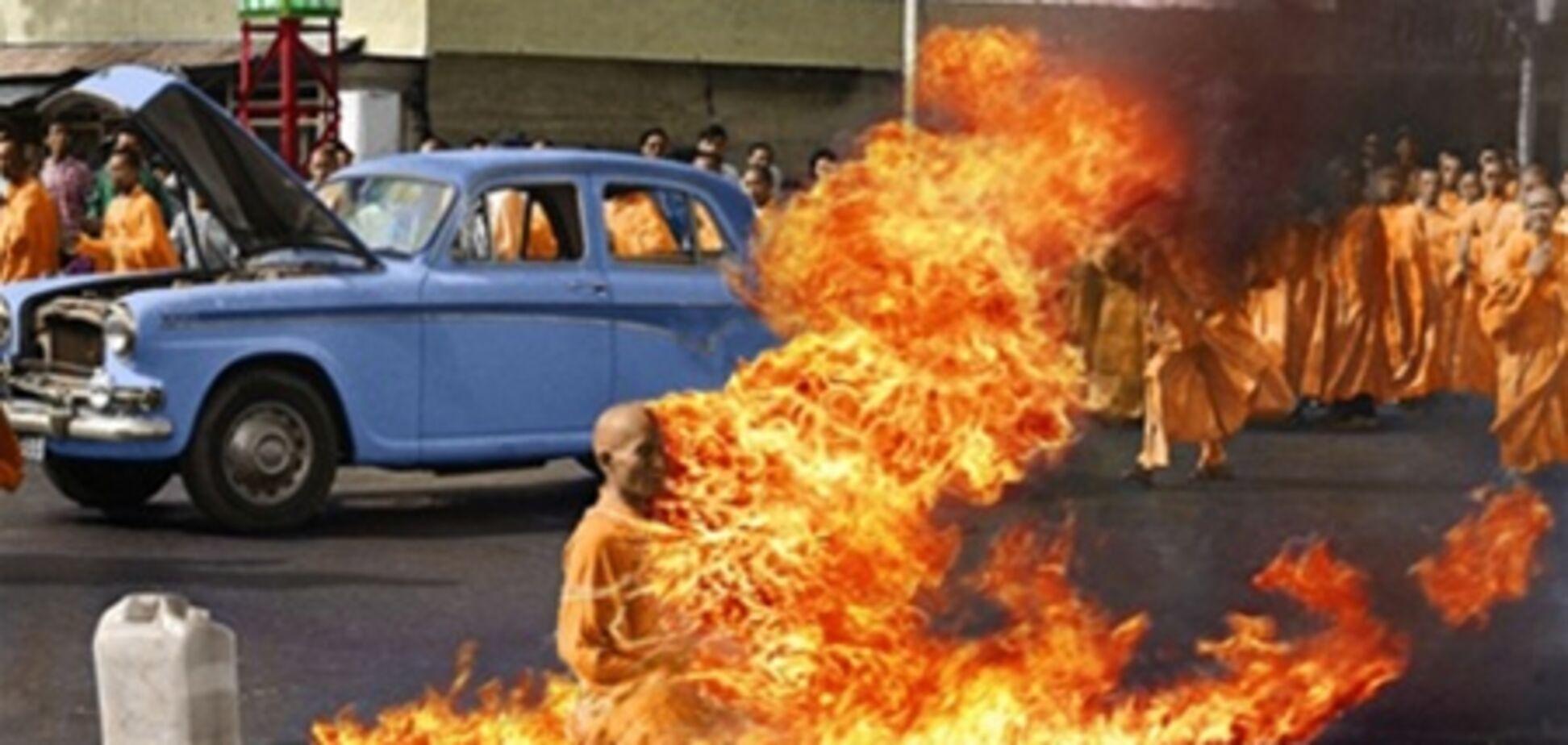 Два тибетських ченці спалили себе на знак протесту проти політики Китаю