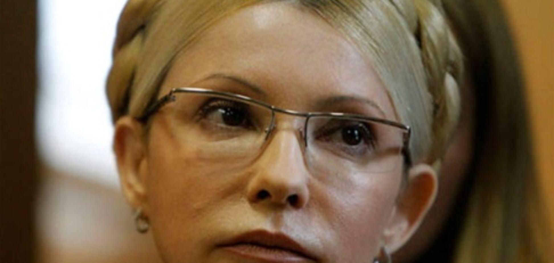 В ГПтСУ говорят, что никуда Тимошенко не выписывали