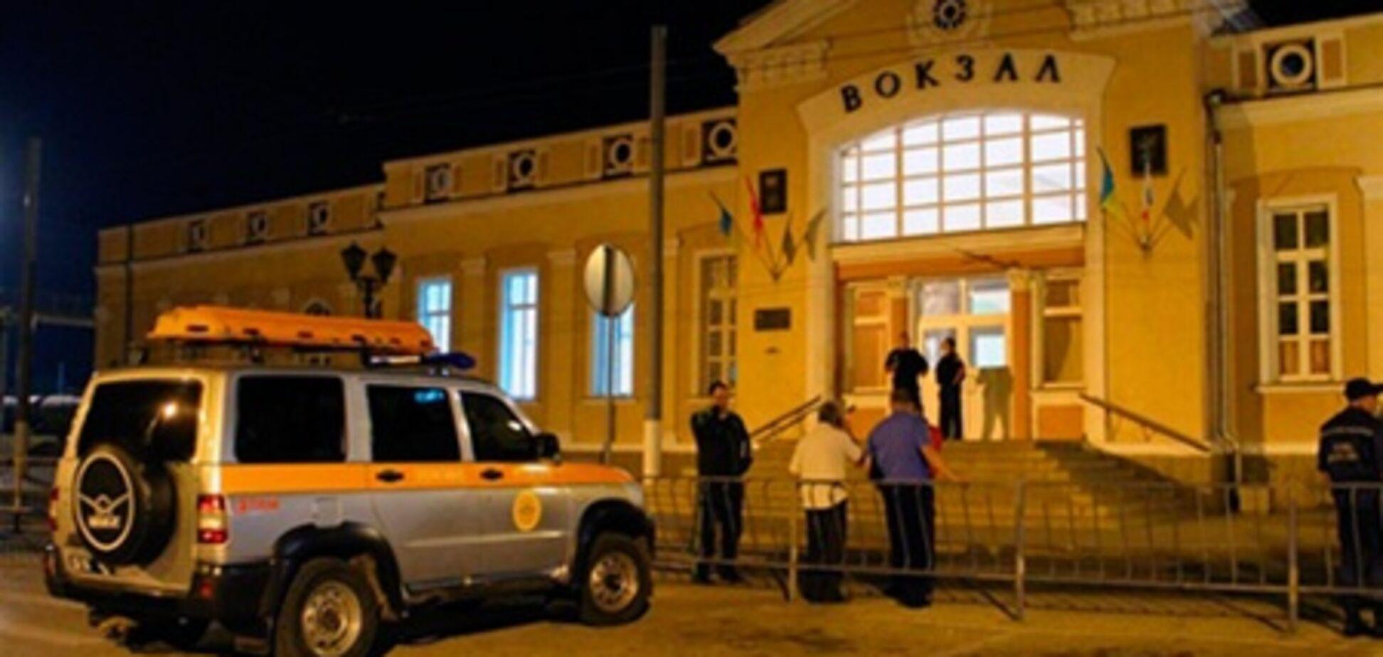 Милиция задержала 'минера' керченского ж/д вокзала