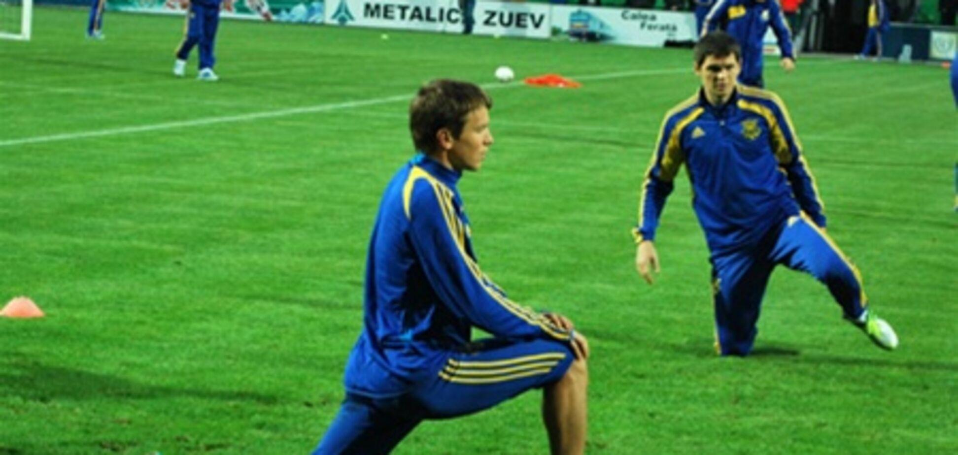 Молдова – Украина: полузакрытая тренировка нашей сборной. Фоторепортаж
