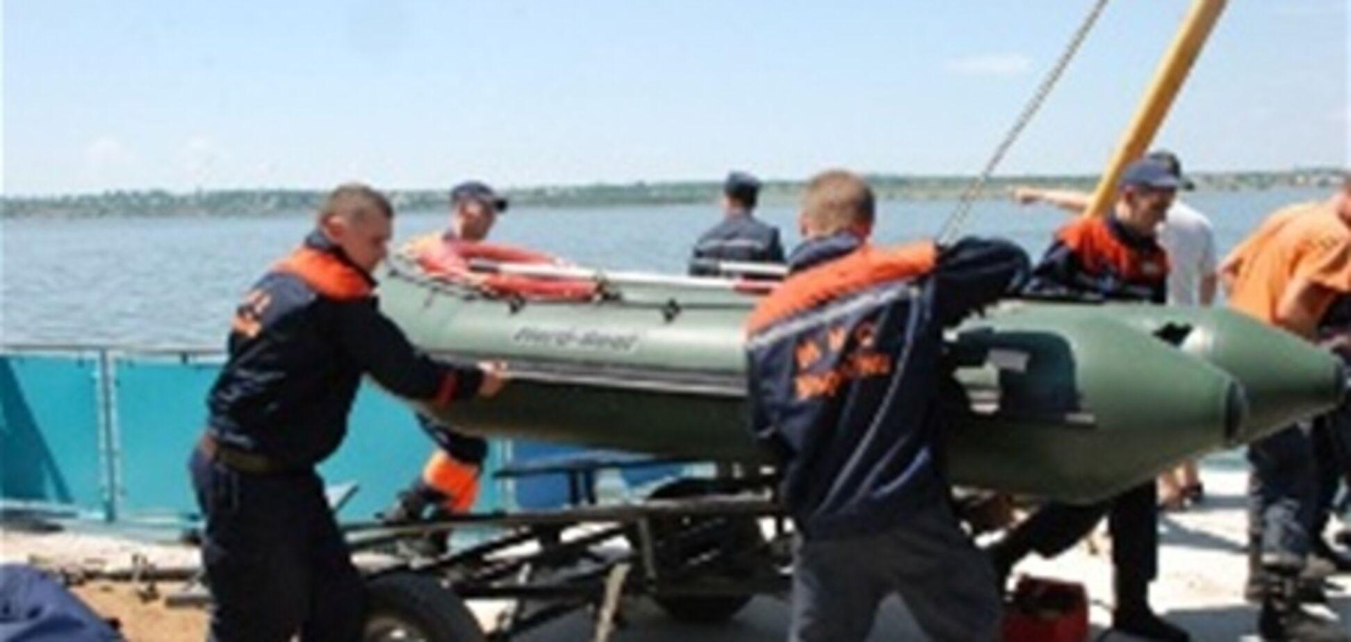 В Киевском водохранилище не нашли пропавших рыбаков