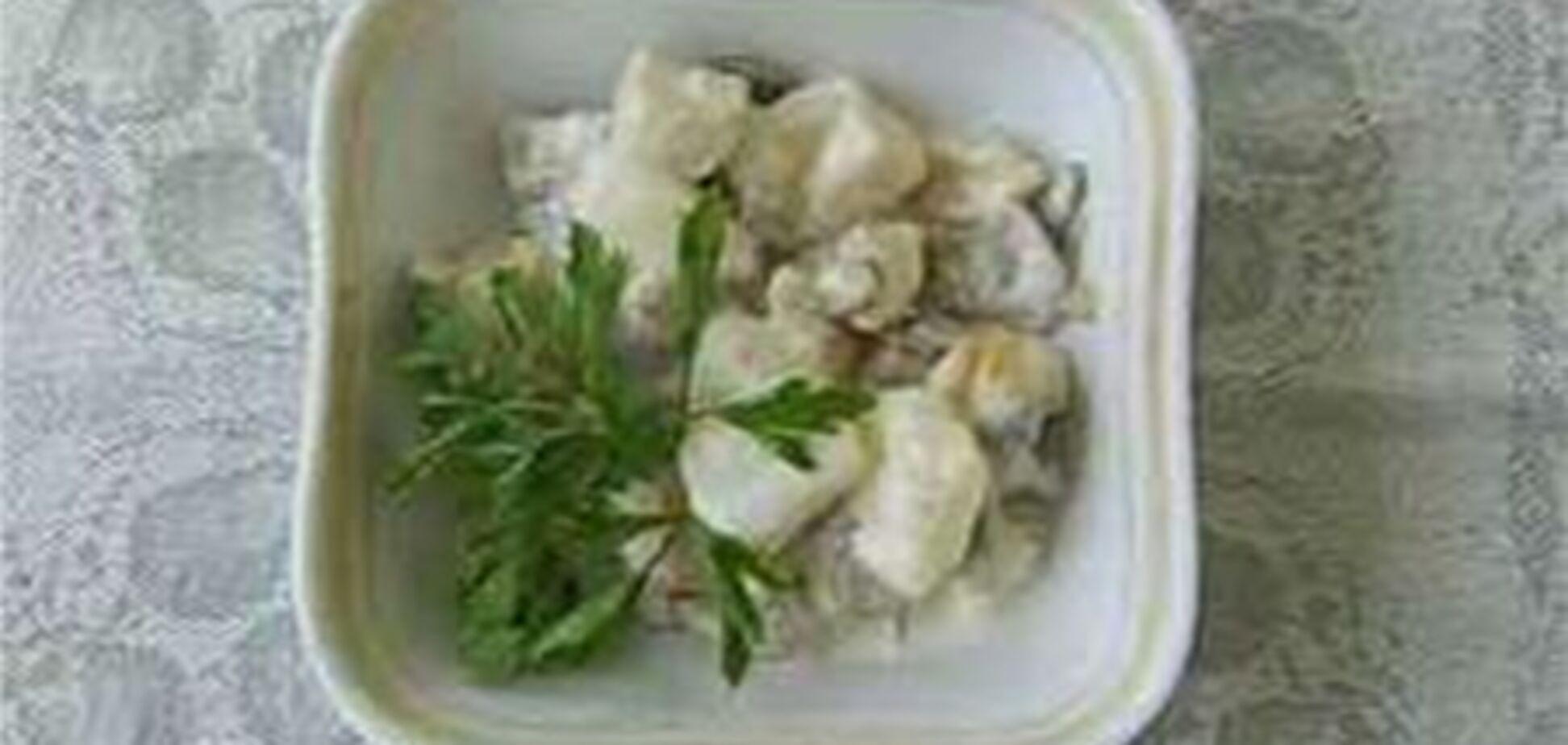 Салат венецианский с курицей
