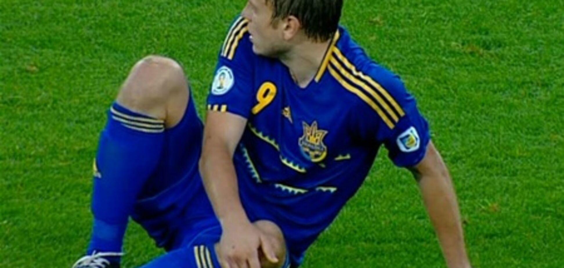 'Ганьба' сборной Украины