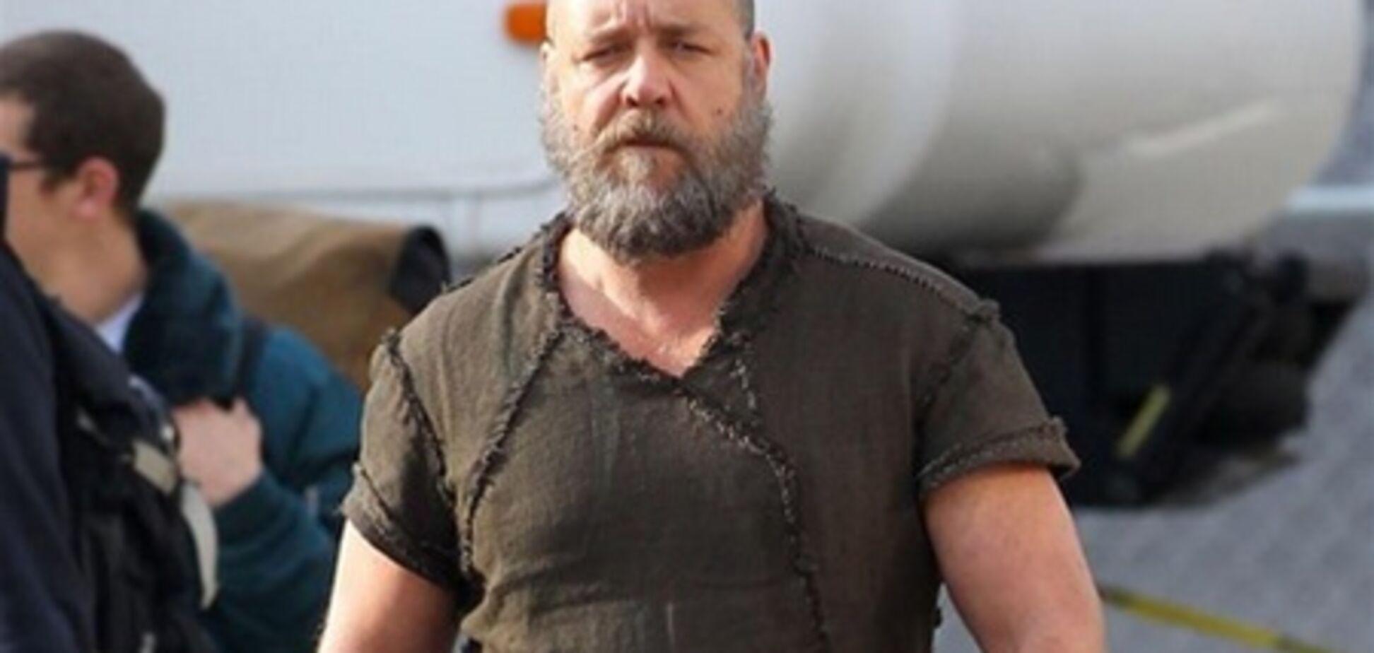 Рассел Кроу с густой бородой против потопа