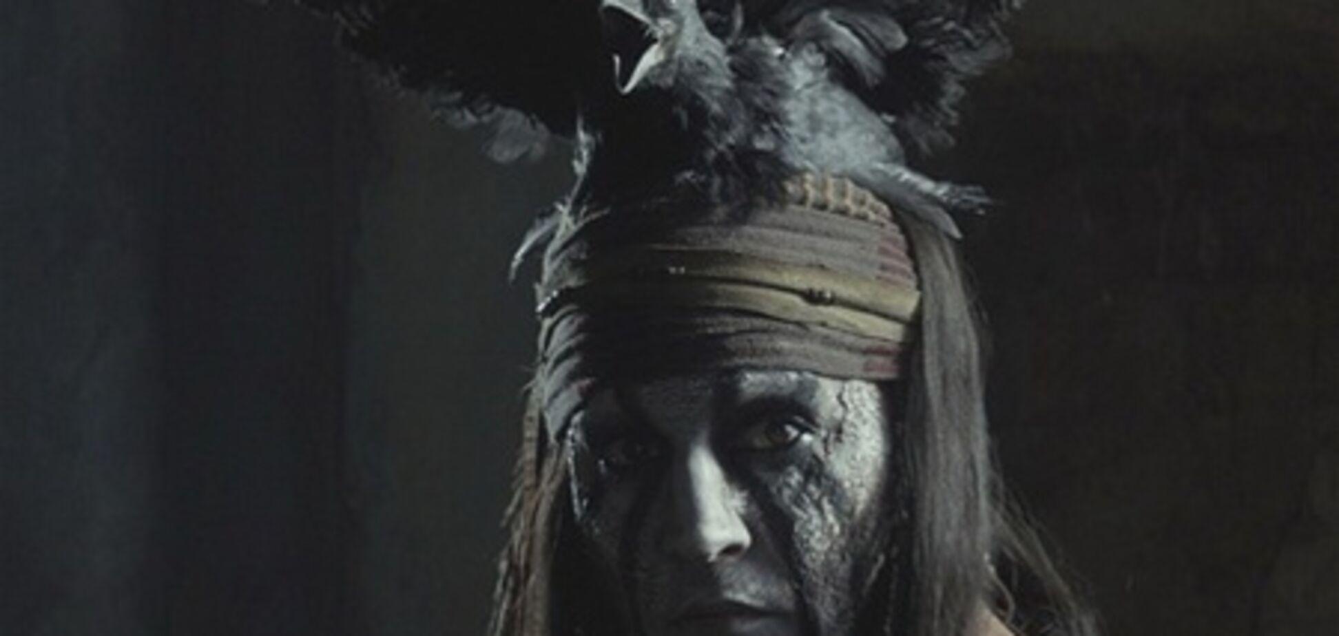 Джонни Депп в образе индейца Тонто: новые кадры