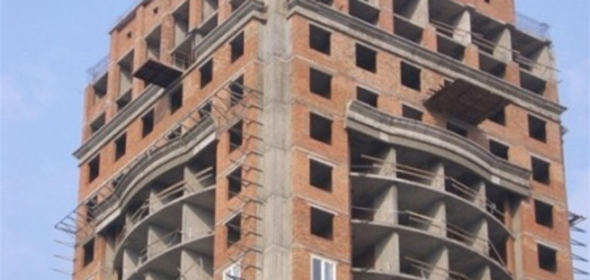 Цены на недостроенное жилье  в Киеве - выросли